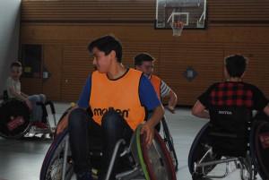 Rollstuhlbasketball - eine neue Perspektive.