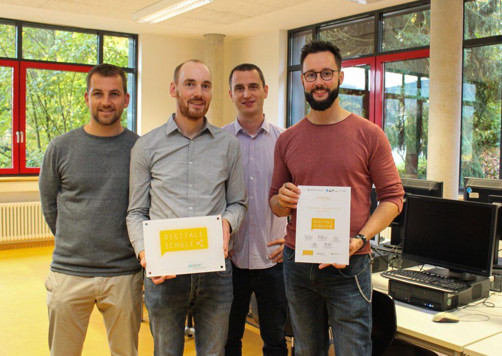 EDV-Team, Philipp Hauke, Gerrit Konrad, Dr. Matthias Hauck, Johannes Ferencik